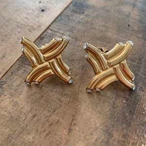 Givenchy vintage clip on earrings